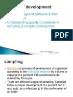 1B.understanding Quality Procedures in SAMPLING & Sample Development