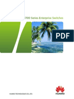HUAWEI S3700 Switch Datasheet