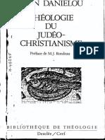 Jean Daniélou Histoire Des Doctrines Chrétiennes Avant Nicée 1 Théologie Du Judéo-christianisme 1974
