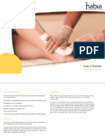 Waxing Code of Practice Booklet