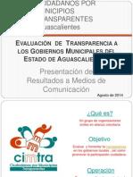 Presentación 1ra Evaluacion CIMTRA - Aguascalientes.ppt