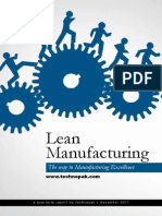 Lean Manufacturing The Way To Manufacturing Excellence