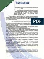 Edital de Transferencia e Reingresso 2014 2