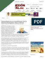 10-08-14 Tamaulipas se va a transformar con la Reforma Energética