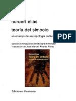 Elias Norbert, Teoria del simbolo, 1988 (edit.1994).pdf
