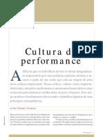 Cultura Da Performance - Pedro Bendassolli