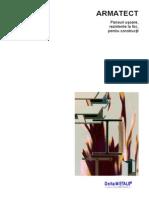 Prezentare Armatect - Panouri Din Vata Minerala Pentru Protejarea Structurilor La Incendiu