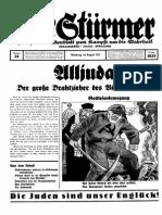 Der Stürmer - 1937 - Nr. 35