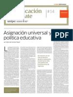 AUH y Educación Dossier Le Monde