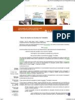 Ações na Justiça do Trabalho - Tipos - Manual de Perícias.pdf