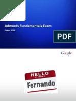 GOOGLE ADDS - Presentacion - Google-Fundamentals - Enero 2013