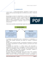 TRABALHO DE EPISTEMOLOGIA DA COMUNICAÇÃO