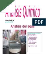 Analisis Del Agua