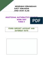 Add Maths Project 2007 by Chin Wynn