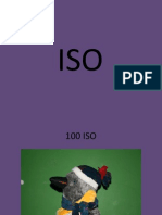 iso and shutter speed and aperture