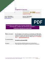 Cs12n588 Projet ISO RH
