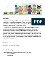 back to school information carta de inicio de ao escolar