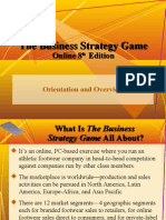 The Business Strategy Game