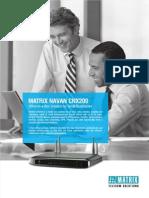 Matrix Navan Cnx200 Datasheet