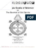 301912 the Lesser Key of Solomon Theurgia Goetia
