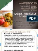 Nutricion y Sexualidad en La Embarazada