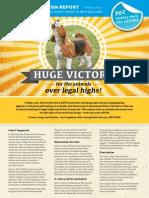Campaign Report Winter 2014