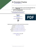 Health Promot Pract 2007 Merzel 375 83