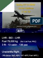 British Airways Boeing 777 G-YMMM LHR accident