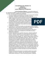 Ley de Servicio Civil Decreto 171