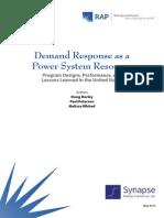 Synapse Hurley DemandResponseAsAPowerSystemResource 2013 May 31 (1)