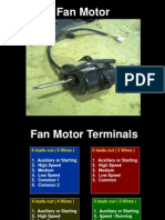 Fan Motor Terminal Identification