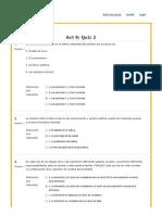 Quiz 2 Psicologia