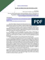 Estructura de Los Procesos de Investigacion