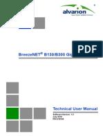 215745 BNB130 BNB300 GigE Technical User Manual Ver1.3 100730