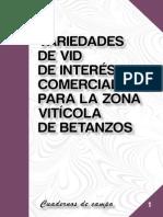 36 Variedades Vid Interes Comercial Zona Viticola Betanzos