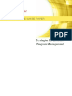 Program Management WP Dec 2013