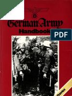 German Army Handbook 1939-45