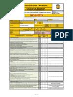 Evaluación Propuesta - Raúl Castro