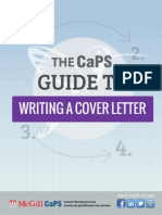 Cover Letter Writing-Color