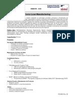 Ementa Lean Manufacturing - 8h