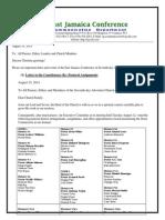 Communication -Advisory #188 for August 16 -2014.Doc
