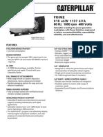 Grupos Electronicos Diesel Cat c32 910ekw Prime Lowbsfc