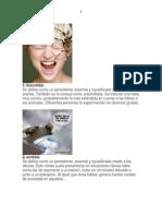 50 Fobias Mas Comunes - Imagenes