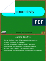 Lecture 7 Hypersensitivity