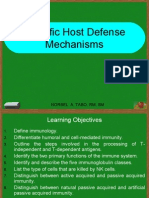 Lecture 6 Specific Defense