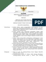 Peraturan Daerah Kota Samarinda Nomor 2 Tahun 2014 tentang Rencana Tata Ruang Wilayah Kota Samarinda Tahun 2014 - 2034