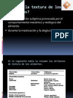 Analisis de Textura en Alimentos y Metodos De