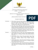 Peraturan Daerah Kota Gorontalo Nomor 40 Tahun 2011 tentang Rencana Tata Ruang Wilayah Kota Gorontalo Tahun 2010 - 2030