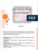 Instrumentos Zona Norte
