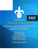 Manual de Organización - Equipo 4